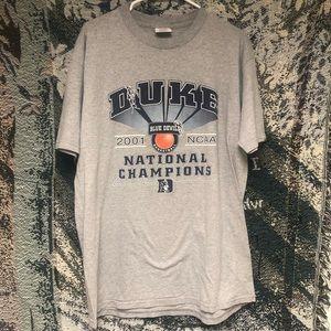 Vintage Duke Blue Devils USA Tee Championship